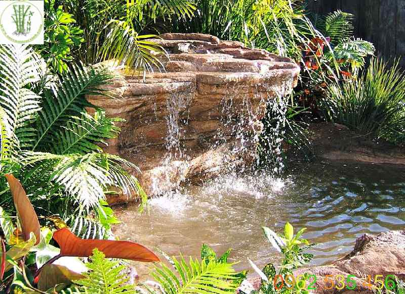 Tiểu cảnh thác nước